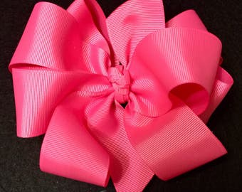 Extra Large 8 loop Boutique Hairbow, Octopus Bow