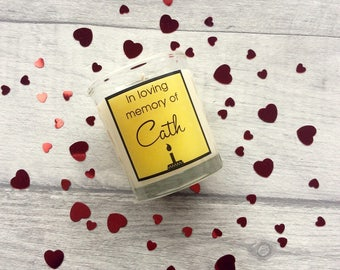 In Memory, Remembrance Gift, Sympathy Gift, Memory Candle, Thinking Of You Gift, Infant Loss Gift, Pet Loss gift
