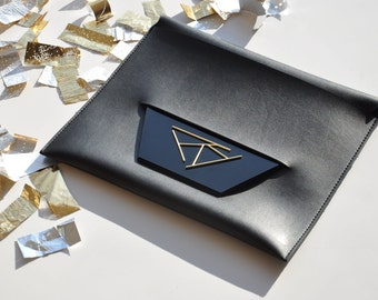 Geometric Clutch Handbag (Collaboration with TIRTILDESIGN)
