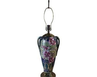 Vintage Art Nouveau Style Lamp