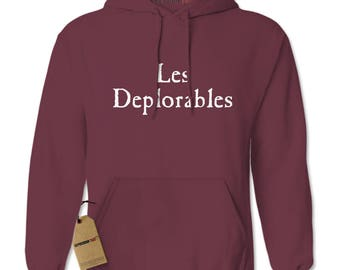 Les Deplorables Basket Of Deplorables Adult Hoodie Sweatshirt