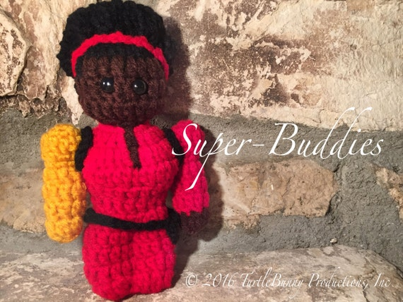 Misty Knight Superhero Inspired Nerd Crochet