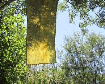 Wind in the Willows ~ Plant Dyed Cloth
