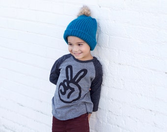 peace sign baseball shirt, two shirt, 2nd birthday shirt boy, two year old birthday shirt, birthday shirt 2 shirt, hippie baby clothes,