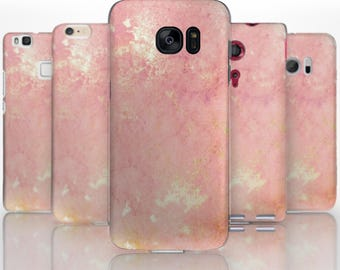 BG0080 Plastic hard case print, personalized/ custom/ personalised phone protective case pink pattern