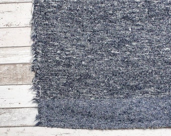 Blue Rug , Area rug, Modern rugs, Nursery rugs, Bedroom rug, Handwoven| Eco-Friendly |Washable. 90x150 (3' x 5') 120x160 (4' x 5'3)