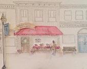 Custom Paper Town Illustr...