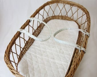 Infant bassinet , baby bassinet , bassinet wicker baby basket, baby cot , baby cradle