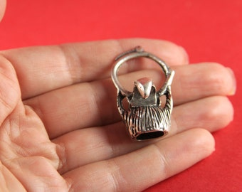 4/4 MADE in EUROPE zamak eagle hook clasp, silver hook clasp, bracelet zamak hook clasp (77916/10) qty1