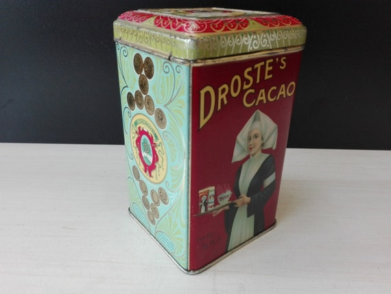 Droste tin, for Eng. & Colonies, net 1lb