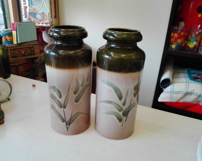 West germany vase, set of two 517-30