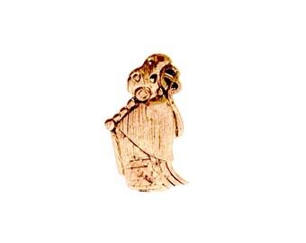 Valkyrie from Birka VIKING KRISTALL bronze pendant