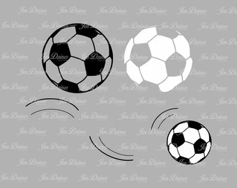 Soccer ball SVG DXF EPS, svg cutting files for Cricut Silhouette, futballl svg design, soccer designs cut, sports svg