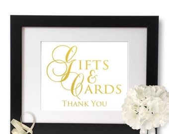Cards and gifts sign, wedding sign, cards sign, gifts sign, wedding gift sign, wedding decoration, wedding decor, wedding ideas