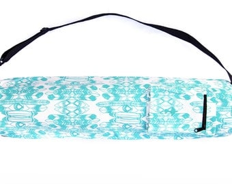 Feathery Canvas Yoga Mat Bag
