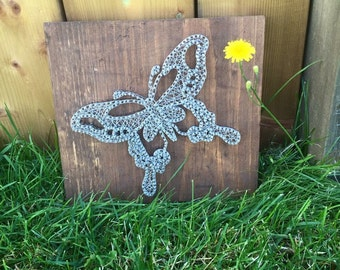 Butterfly wire art