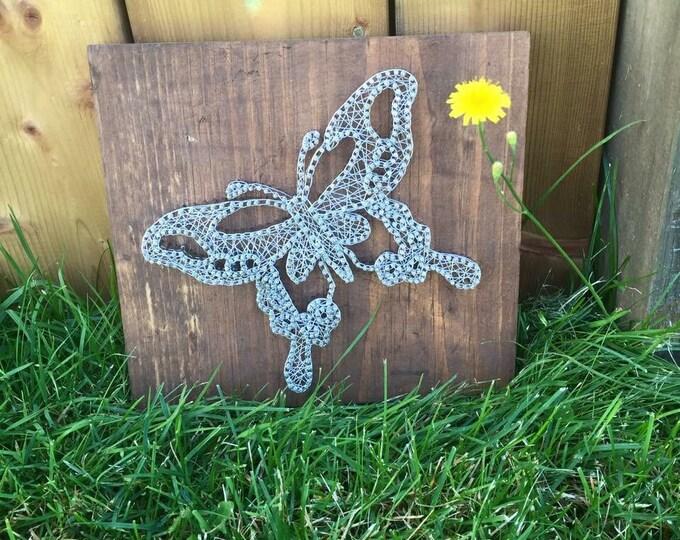 Butterfly wire art