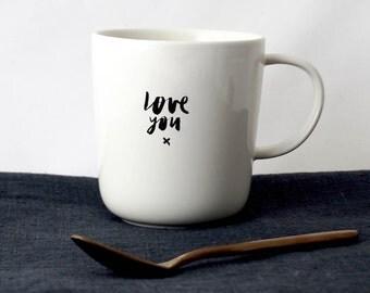 """Mug """"LOVE YOU"""""""