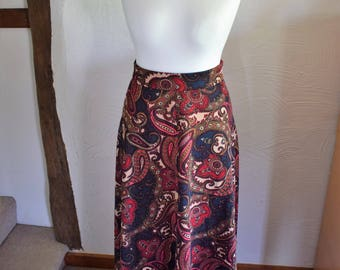 Vintage Co-Op paisley print skirt, UK Size 14/16