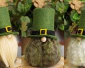 LEPRECHAUN irlandais Gnome, Saint-Patrick, SEAMUS, nains de jardin verts, Gnome irlandais, cadeaux irlandais, en Irlande, Folklore irlandais, histoires irlandais, Gnome maison