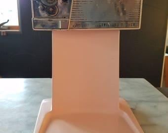 Vintage pink Sunbeam electric can opener ~ works!