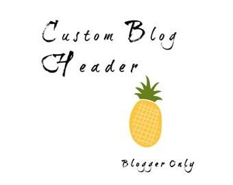 Custom Blog Header