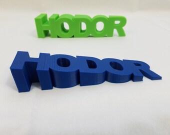 3D Printed HODOR Door Stop Inspired By Game of Thrones