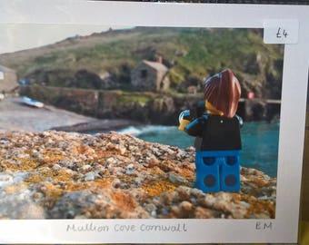 "LEGO 4"" by 6"" photo print. Taken in Mullion Cornwall"