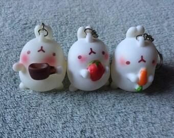 Cute Bunny Keyrings