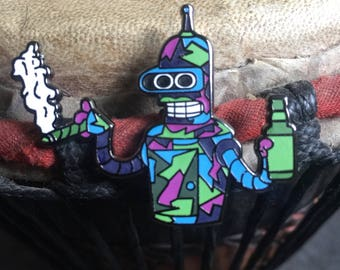 Bender hat pin