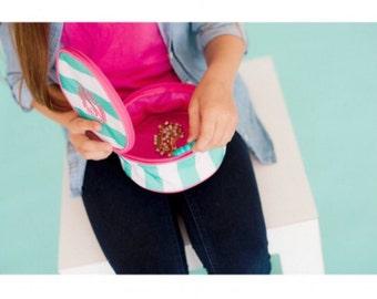 Monogram Jewelry Bag, Jewelry Holder, Jewelry Organizer, Travel Jewelry Bag, Monogram Jewelry, Personalized Jewelry Pouch