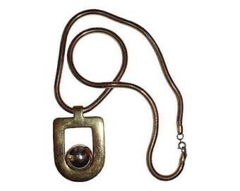 Lanvin Runway Retro Necklace
