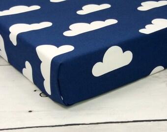 Cloud Crib Sheet Etsy