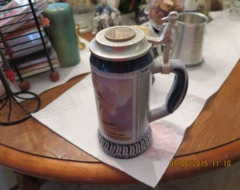 1990-1991 The Federal Duck Stamp Stein
