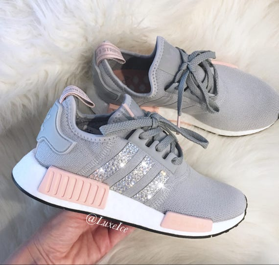 adidas nmd runner r1 w by3058 clear light onix vapor pink gray. Black Bedroom Furniture Sets. Home Design Ideas