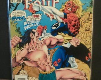 1995 Fantastic Four #404 Prince Namor, Invisible Woman On Cover  VG-VF Vintage  Comic Book Marvel Comics