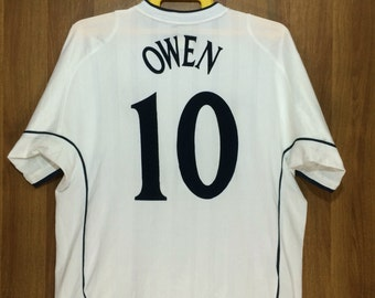 England Umbro Under Licensed Product Michael Owen #10 Team Jersey - Adult Large Size