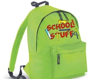 School Stuff kids backpack