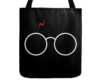 harry potter tote etsy. Black Bedroom Furniture Sets. Home Design Ideas