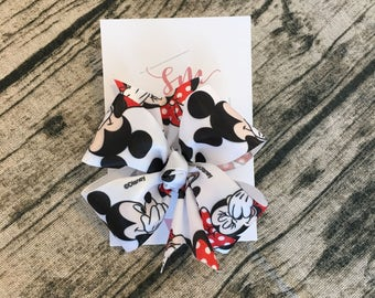 Minnie Mouse Hair Bow - Party Favor