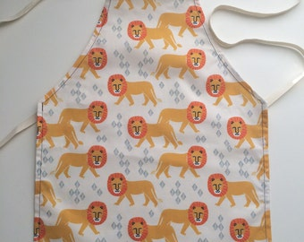 Lion Play Apron