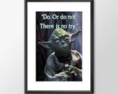 Star Wars Art - Yoda - Do...