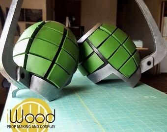 My Hero Academia Cosplay Armor/Gauntlet Katsuki Kacchan  Grenade Pattern