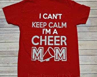 Cheer Mom Shirt Etsy