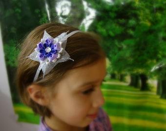 Gift for Girl, Girl Hair Acessories, Headbands, Girls Headbands Flower headbands Star headpiece Easter Headband Sparkly headbands for girls