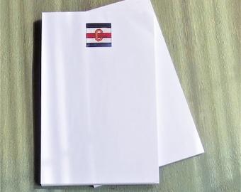 C nautical flag print