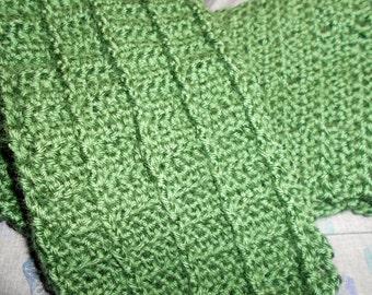 Alligator-back Stitch Scarf