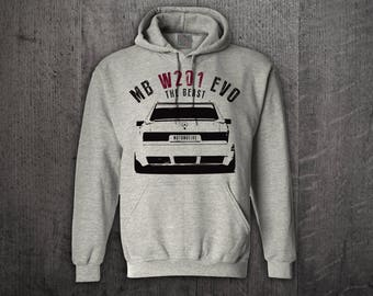 Mercedes E 190 Hoodie, cars hoodies, mercedes benz hoodies, Graphic hoodies, funny hoodies, Cars t shirts, Mercdes W201 t shirts, AMG shirts