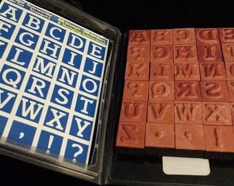 1998 Noteworthy Stampers - Alphabet Upper Case