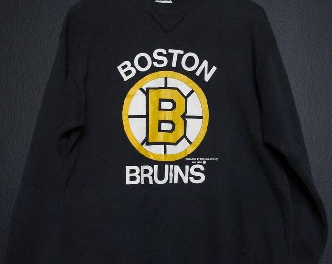 Boston Bruins NHL 1990 Vintage Sweatshirt